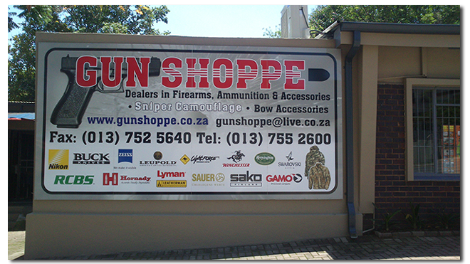 Leading Gun Shop in Mpumalanga